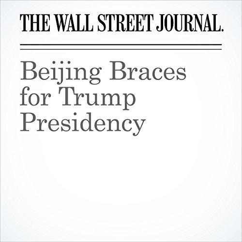 Beijing Braces for Trump Presidency copertina