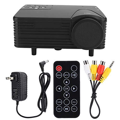 Soapow Mini Portable Projector 1920x1080 80LM Home Cinema Theater Media Player US Plug