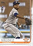 2019 Topps Series Two Baseball #376 Framber Valdez RC Rookie Card Houston Astros Offical MLB Trading Card. rookie card picture