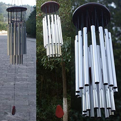 Antike erstaunliche Anmut 27 Röhren Windspielkapelle Windglocken Windspiele Tür hängendes Ornament Windspiele Hauptdekor