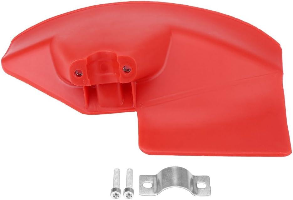 Fait, 1 Pieza, Protector de desbrozadora para desbrozadora de Eje de 24 26 28 mm de diámetro, Adecuado para máquinas de Eje Recto