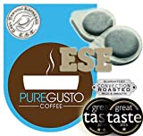PureGusto ESE Coffee Pods Mixed Selection Pack x 100 - FREE DELIVERY - Great Taste Award Winner Included