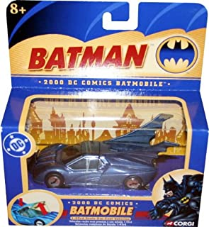 2000 DC Comics BATMOBILE 1:43 Scale Die-Cast Vehicle CORGI 2004 Batman Collectibles
