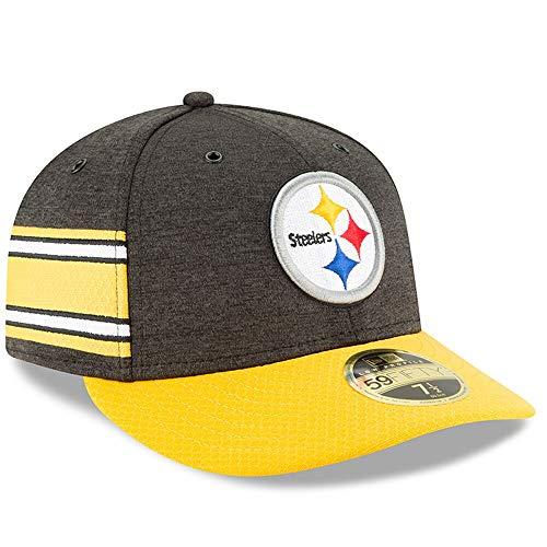 New Era Pittsburgh Steelers Baseball Cap 59FIFTY Low Profile Onfield 2018 SL HM OTC Gr. 7 1/2