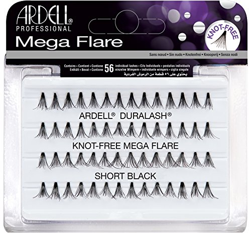 ARDELL Mega Individuals Knot-Free Short Black Faux-cils