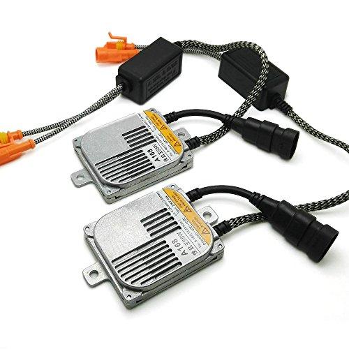 Heinmo 2 pcs 55 W HID Xenon Ballast Digital en métal Bloque les Inition Ballast électronique pour HID Kit Xenon H7 H4 H1 H8 H11–2 ans de garantie