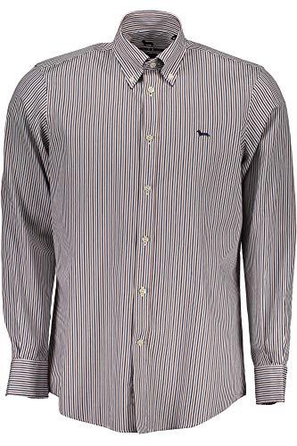 HARMONT & BLAINE CRA011002908 Camicia Maniche Lunghe Uomo Marrone 700 XL