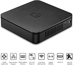 PEPPER JOBS GLK-UC2X Unlocked Intel N4100 Mini PC with Windows 10 Pro (64-bit) [Upgradeable/4GB/64GB/Dual-Band Wi-Fi/Gigabit Ethernet/Triple 4K 60Hz outputs/Dual USB-C]. Sold Directly by Pepper Jobs