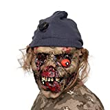 AivaToba Maschera Halloween, novità Latex Creepy Horror Head Maschere Faccia Paura per la Festa in Costume di Halloween