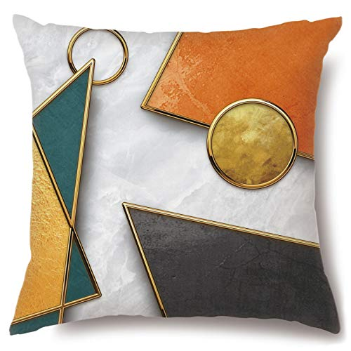XINRJY Sofá Minimalista Moderno De Estilo Europeo, Almohada Geométrica, Cojín De Noche, Cojín De Cintura para Coche, Siesta De Oficina