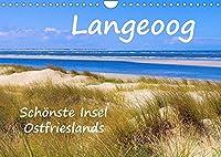 Langeoog - Schoenste Insel Ostfrieslands (Wandkalender 2022 DIN A4 quer): Impressionen der Nordseeinsel Langeoog (Monatskalender, 14 Seiten )