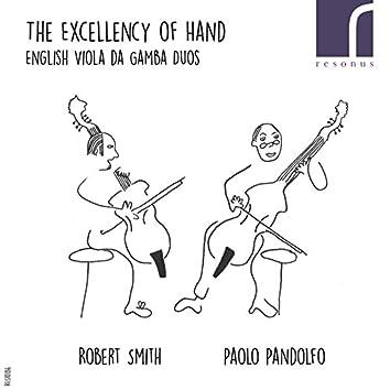The Excellency of Hand: English Viola da Gamba Duos