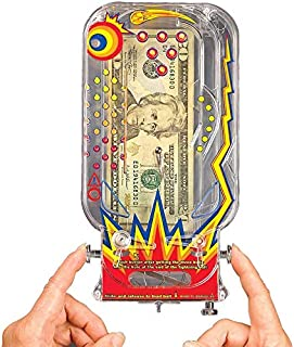 BILZ Money Maze - Cosmic Pinball for Cash, Card and Certificates, Fun Reusable Game for Everyone