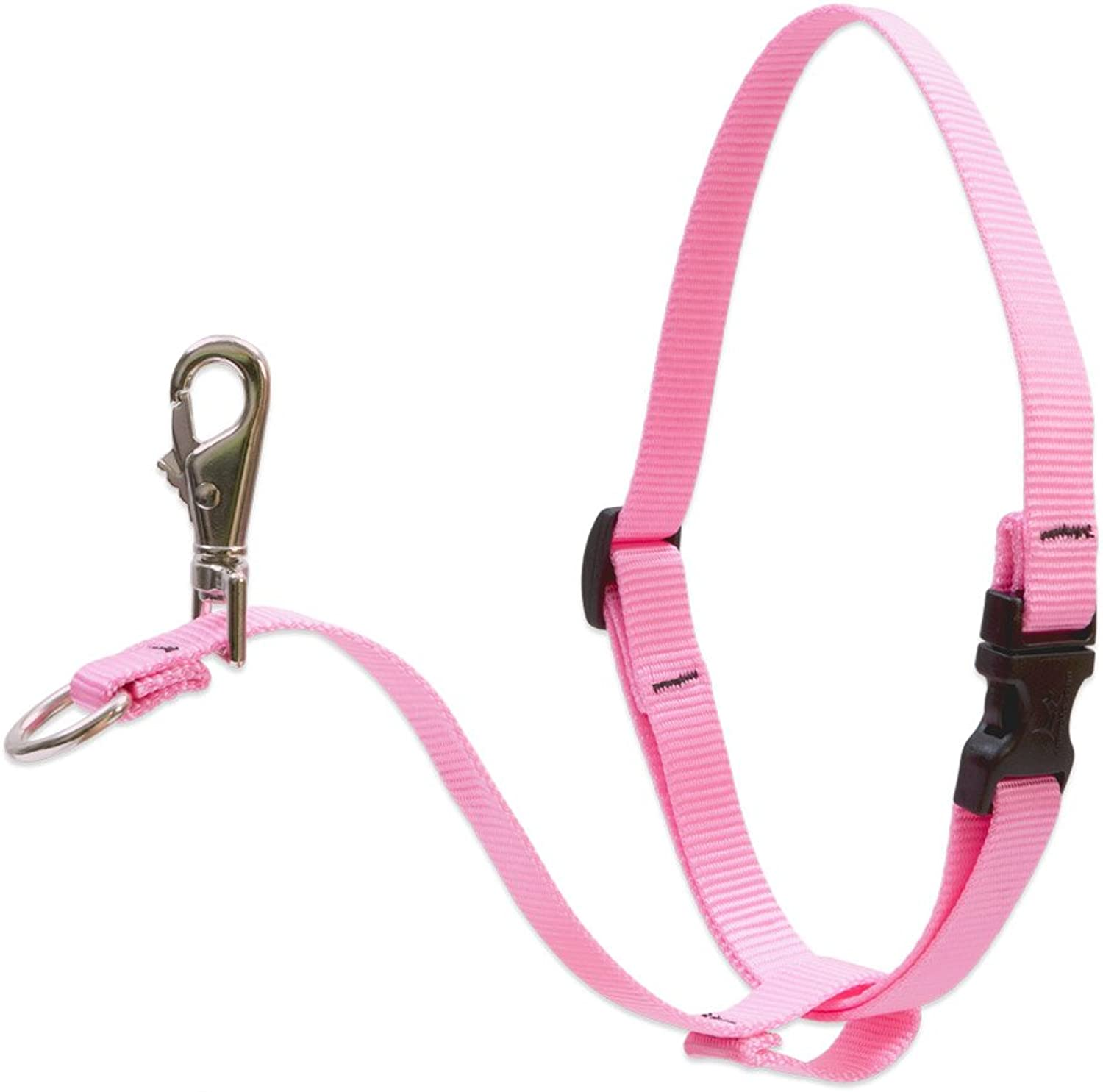 Lupine 1Inch Pink 2638 Inch No Pull Harness for Medium to Large Dogs