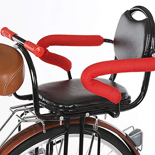Mr.LQ Fahrrad Sicherheitsträger Kind Fahrradsitze Hinten Kinder Babysitz Big Space mit Sicherheitsgurt Geeignet für Elektrische Fahrrad Mountainbike