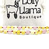 Best Amber Teething Necklaces - Genuine Baltic Amber Necklace by Lolly Llama Review