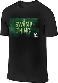 NICOTE Man Designed Casual Tee Swamp Thing T-Shirts