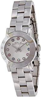 Marc by Marc Jacobs Women's Off White Dial Stainless Steel Band Watch - MBM3217