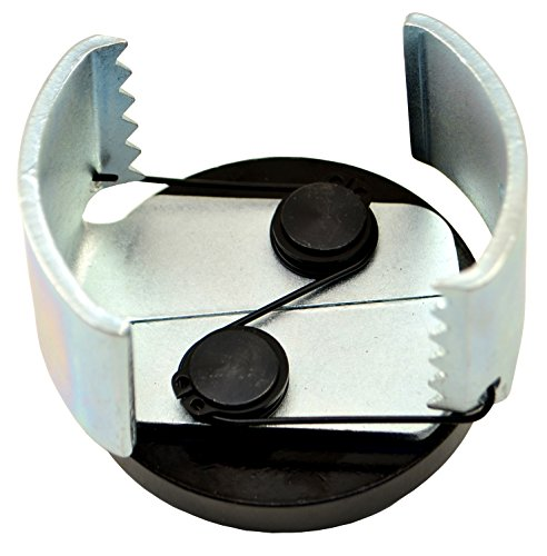 Motivx Tools Small Adjustable Oil Filter Wrench for Removing 2.5' - 3.25' Diameter Spin-On Oil Filters