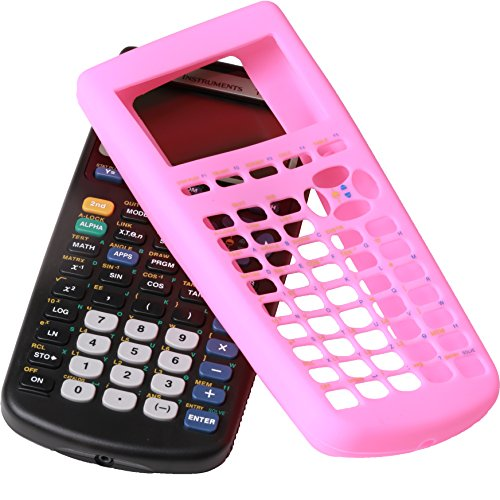 Guerrilla Silicone Case for Texas Instruments TI-83 Plus Graphing Calculator, Pink Photo #6