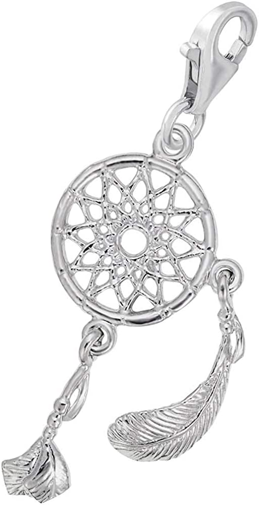 Rembrandt Charms Dream Catcher Charm with Lobster Clasp