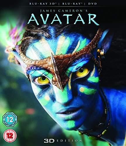 Avatar (Blu-ray 3D + Blu-ray + DVD) [2012] [Region Free]