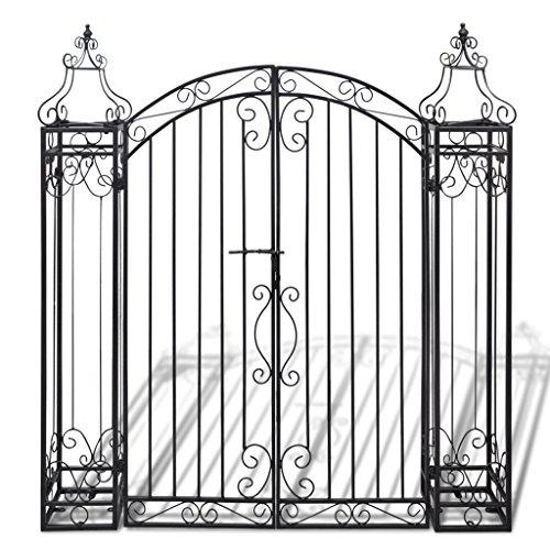 Festnight Recinzioni Decorative Cancello Ornamentale in Ferro