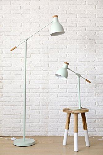 Kenay Home Liv Lámpara de Mesa E14, Verde Menta, 54 x 15 cm ...