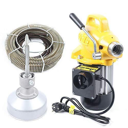 Abflussrohrreiniger - Abflussreinigungsmaschine , 400 W Abflussschneckenrohrreiniger , Elektrische Reinigungsmaschine für Küchenspüle Badezimmer Badewanne Durchmesser 20-125 mm