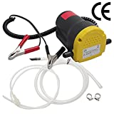 YaeTek 12v Motor Oil Diesel Extractor Scavenge Suction Transfer Change Pump