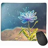 Tappetino per Mouse in Gomma antiscivolo per tappetino per Mouse da gioco con Penna a Libro astratta ^ 25 * 30cm