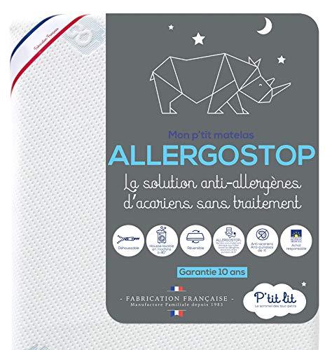 P'tit Lit Allergo Stop Matratze, 60x120cm, Weiß