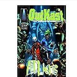 Gigoo Musikalbum Hip Hop Outkast ATLiens Poster Kunst LW