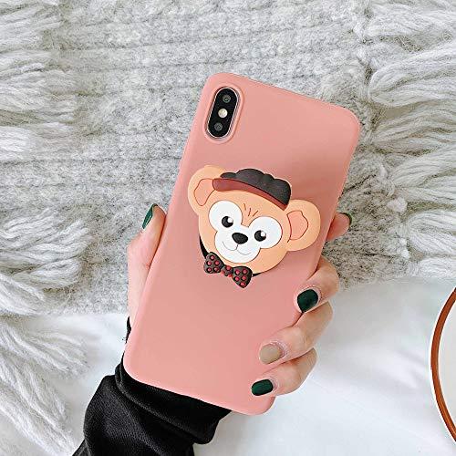 LUOKAOO 3D Cute Cartoo Soft Phone Hülle für iPhone X XR XS 11 Pro Max 6S 7 8 Plus Halter Abdeckung für Samsung S8 S9 S10 Hinweis, A, für S9