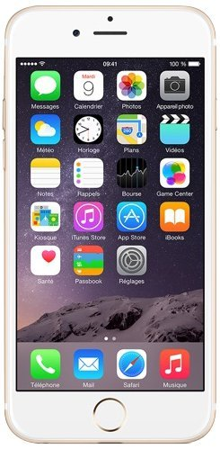 Apple iPhone 6 Smartphone (11,9 cm (4,7 Zoll) Retina HD Display, M8 Motion Coprozessor, 8-Megapixel iSight Kamera, 1080p, 64GB interner Speicher, Nano-SIM, iOS 8) gold (Generalüberholt)