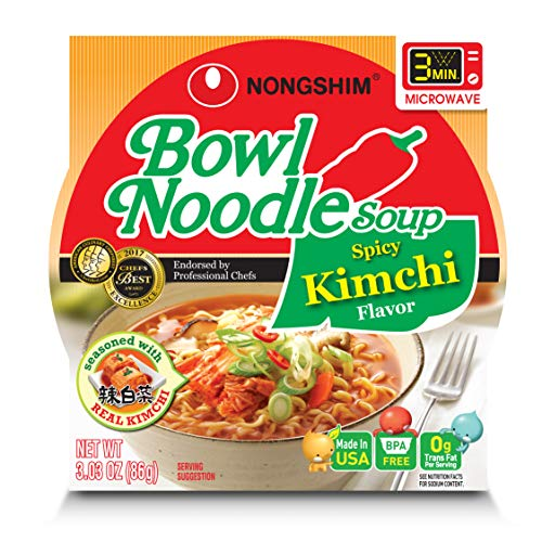 Image of NongShim Bowl Noodle Soup,...: Bestviewsreviews