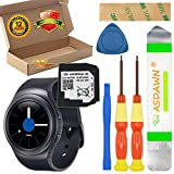 EB-BR720ABE for Samsung Galaxy Gear S2 Battery Replacement, for Gear S2 SM-R720 / Gear S2 Classic SM-R732 with Repair Tool Set + Installation Instruction