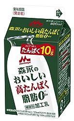 [冷蔵] 森永乳業 森永のおいしい高たんぱく脂肪0 500ml