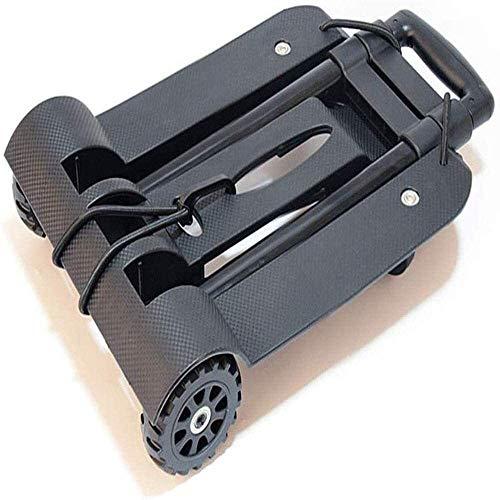 PARTAS 4 Räder Folding Trolley Maximale tragende 44kg for das Einkaufen Business Travel Frachtumschlags Home Office