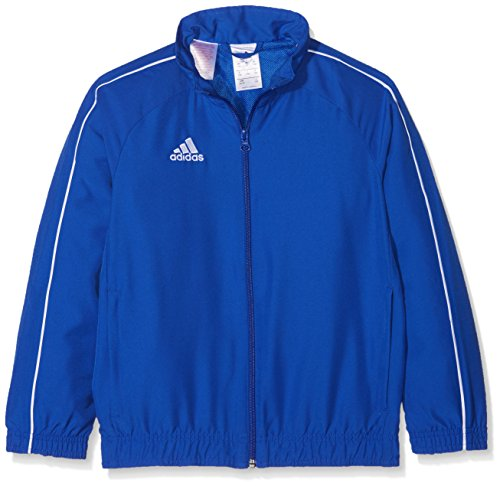 adidas Kinder CORE18 PRE JKTY Sport Jacket, Bold Blue/White, 1314