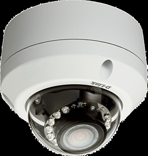 D-Link DCS-6315HD Outdoor Fixed Dome Camera with Colour Night Vis