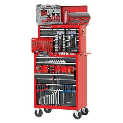 Clarke International - Caja de herramientas y carro (322 her