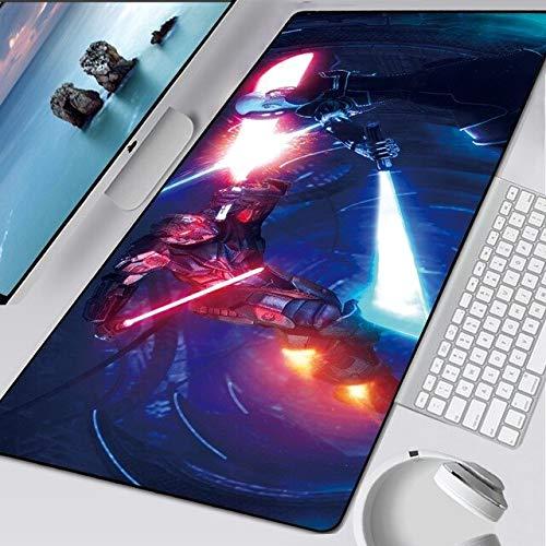 TonyJameJPStore Star Wars Mouse Pad Fashion Laptop XXL Computer Mouse Mat 800x300mm Gaming Mousepad HD Large XL Gamer Desk Keyboard Play Mats - StarWars-079 - 900x300x2mm
