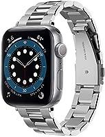 Spigen Apple Watch 40mm / 38mm (Seri 1/2/3/4/5/6/SE ile Uyumlu) Kayış Modern Fit Silver - 061MP25943