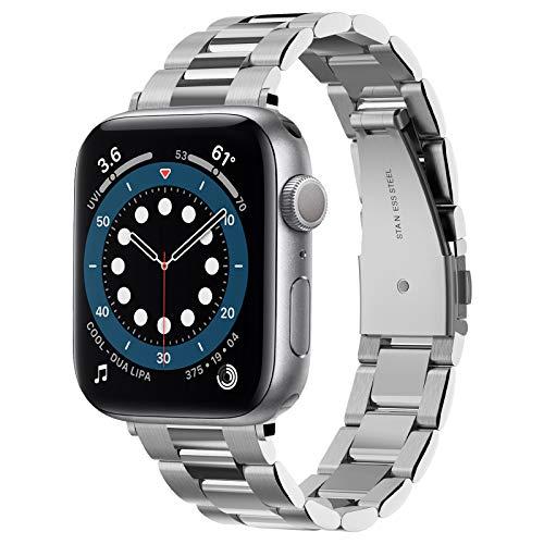 【Spigen】 Apple Watch バンド ステンレス製 調整可 調整器具付き 061MP25943