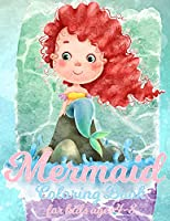 Mermaid Coloring Book For Kids Ages 4-8: 50 Cute And Beautiful Unique Coloring Pages