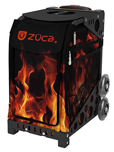 ZUCA 'Blaze Sport Insert Bag, Black Frame with Flashing Wheels