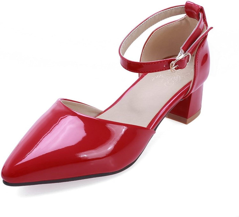 AdeeSu Womens Cold Lining Solid Dress Urethane Sandals SLC03881
