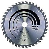 Bosch Professional Lame de scie circulaire Optiline Wood (pour le bois, 254 x 30 x 2,8mm, 40 dents, accessoire de scie circulaire)