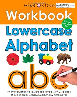 Wipe Clean Workbook Lowercase Alphabet (Wipe Clean Learning Books)